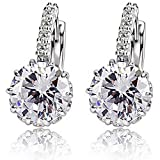 ANDI ROSE Fashion Jewelry Crystal & Rhinestones Hoop 18K Gold Plated Stud Earrings for Women