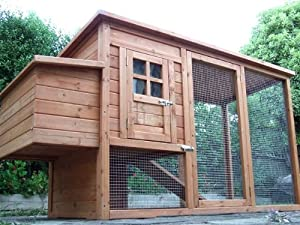 Chicken Coops Imperial Winchester Chicken Coop Hen House Ark Poultry Run Nest Box Rabbit Hutch Suitable For Up To 4 Birds