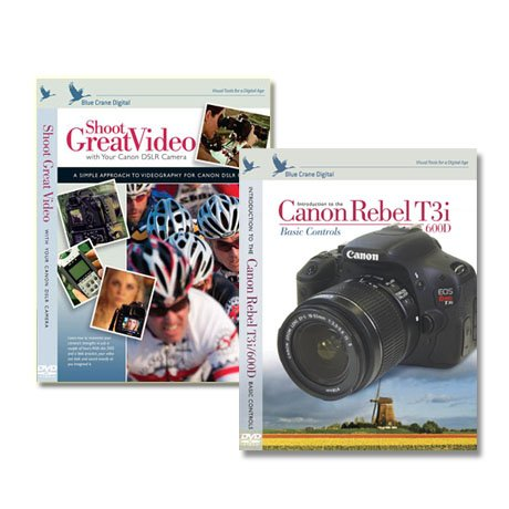 Canon T3i /600D Instructional DVDs 2 Pack Vol.1, Video