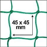 Connex-B34067-Anhngernetz-140-x-250-cm-Fadenstrke-18-mm-Maschenweite-45-x-45-mm-Strke-6-mm