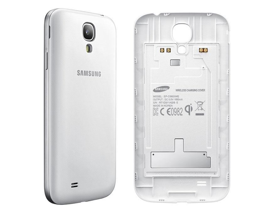 cover, now you can charge your Galaxy S4 without the need to plug in