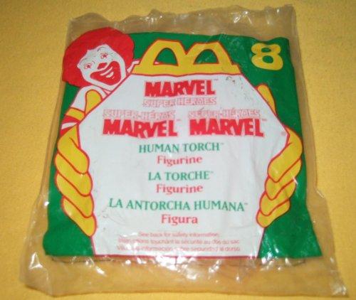 MCDONALD'S HAPPY MEAL: SUPER-HEROES HUMAN TORCH #8 (1996) - 1