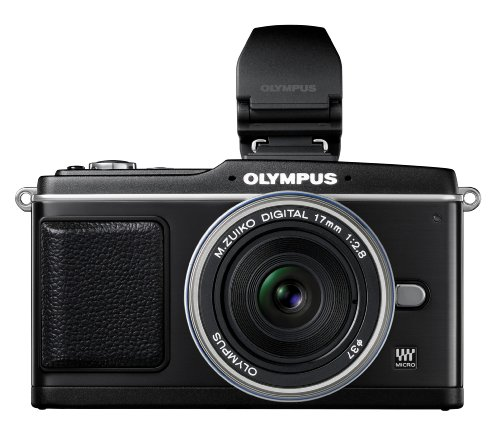 Olympus PEN E-P2 12.3 MP Micro Four Thirds Interchangeable Lens Digital Camera with 17mm f/2.8 Lens and Electronic View Finder best price