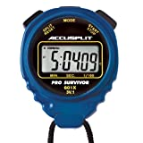 ACCUSPLIT Pro Survivor - A601X Stopwatch, Clock, Extra Large Display (Blue)