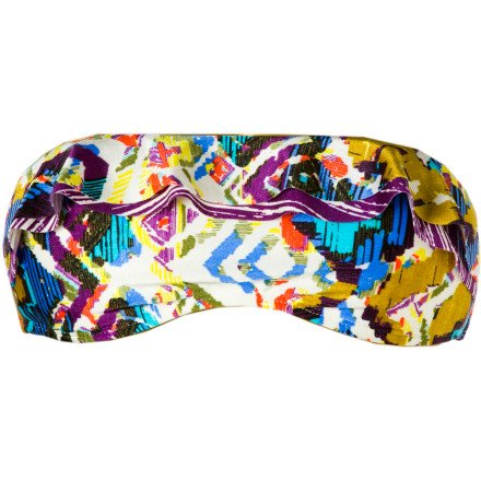 Volcom Tribal Play Bandeau Bikini Top - Women's Multi, XL