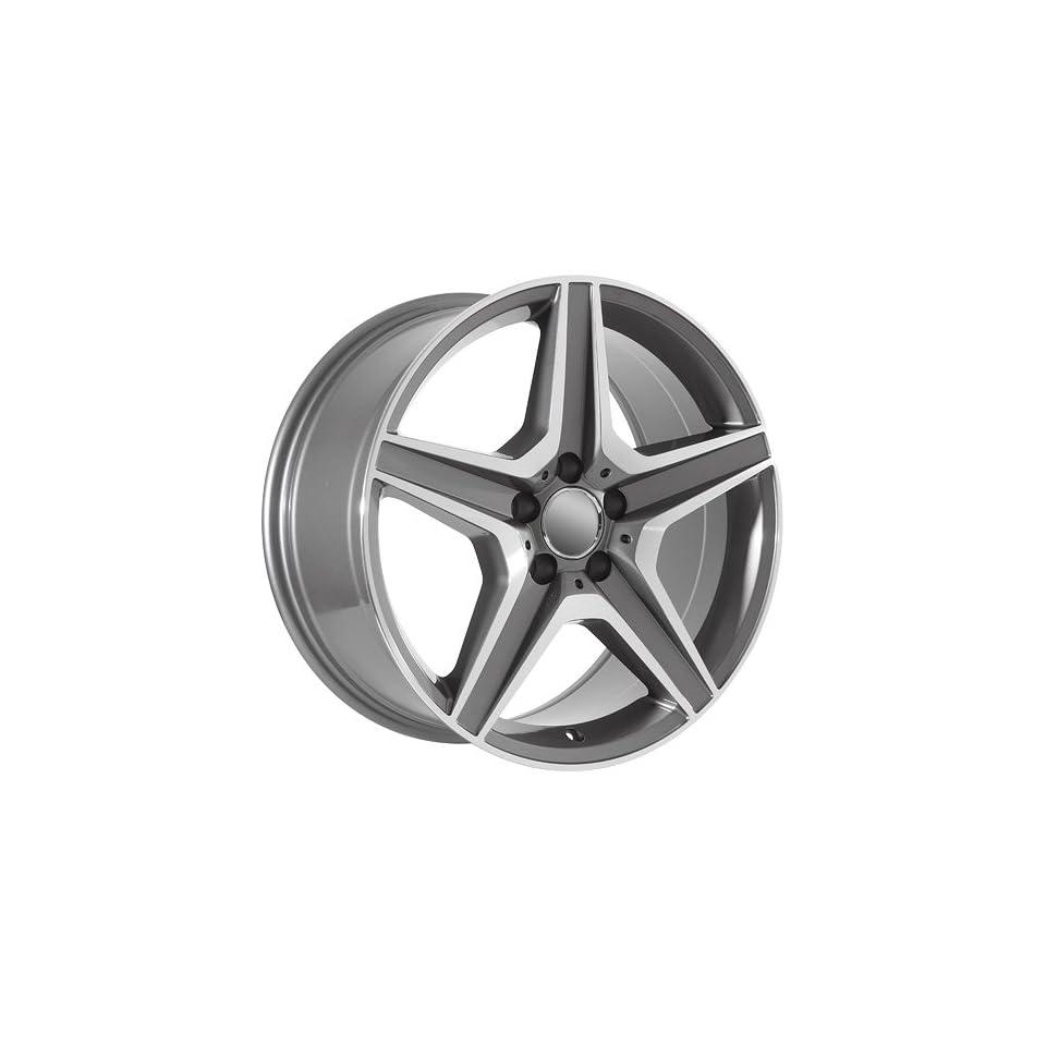 20 Inch Mercedes Benz Wheels Rims Machined (set of 4)