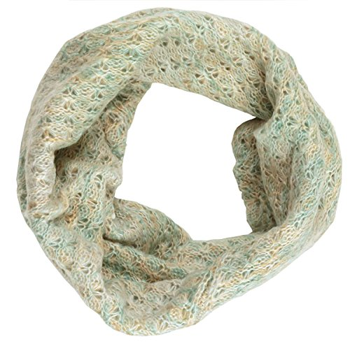Lightweight Powder Color Infinity Snood Scarf