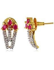 Ava Stud Earrings For Women (Golden) (E-B-003)