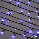 Innoo Tech Garden Lights Solar Powered 120 LED Fairy Lights for Patio,Window,Outdoor Party,Christmas Tree (Blue)