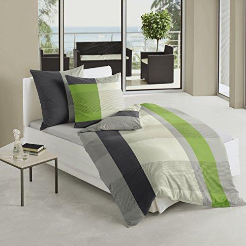 Bierbaum biancheria da letto in raso multicolore 155 x - Amazon biancheria letto ...