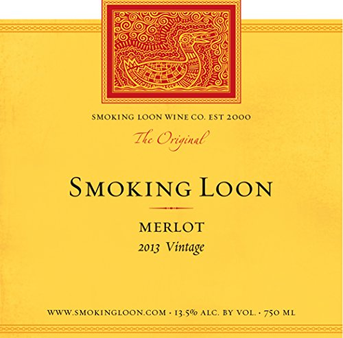 2013 Smoking Loon Merlot 750 Ml