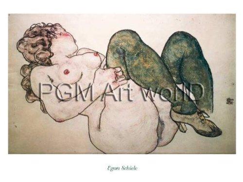 Kunstdruck Poster: Egon Schiele