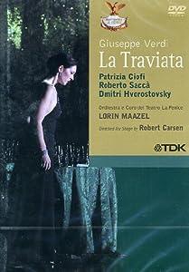 Verdi - La Traviata / Ciofi, Sacca, Hvorostovsky, Tufano, Martorana, Cordella, Porta, Maazel, La Fenice Opera