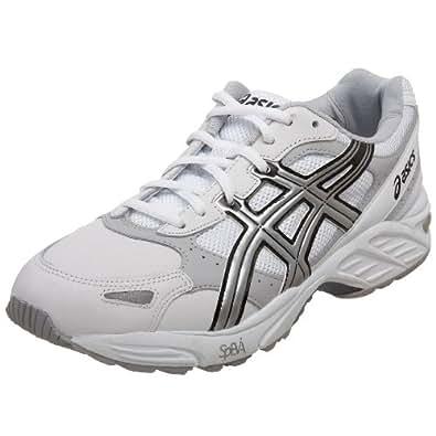 ASICS Men's GEL-Foundation Walker Walking Shoe,White/Silver/Black,7 D US