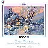 Ceaco 3310-41 Thomas Kinkade - Winter Evening Gathering Puzzle - 1000 Piece