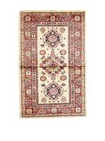 QURAMA Alfombra Kazak Super Beige/Multicolor 133 x 78 cm
