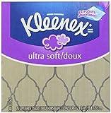 Kleenex Ultra Soft & Strong Facial Tissues, Medium Count Flat