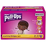 Pull-Ups Training Pants with Learning Designs for Girls, 2T-3T, 74 Count (Packaging May Vary)