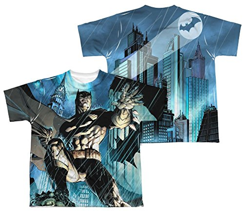 Dark Knight Batman Costume All Over Print Youth Front / Back T-Shirt