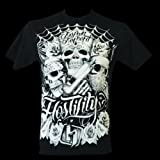 "HOSTILITY CLOTHING ""NO PAIN NO PROFIT"" MMA SHIRT X-LARGE"