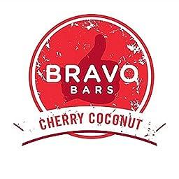 Bravo Bars Cherry Coconut Nutrition Bar
