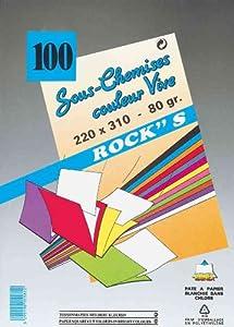 Paquet de 30 sous chemises couleurs