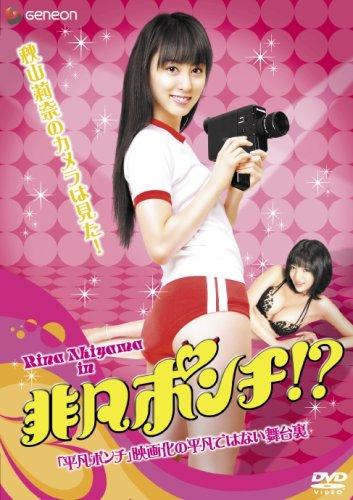 非凡ポンチ~秋山莉奈のカメラは語る!「平凡ポンチ」映画化の平凡ではない舞台裏 [DVD]