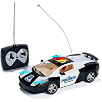 Prextex Remote Control Police Car With LED Lights And Rc Police Siren Sounds RC Police Car Toys For Boys Best...
