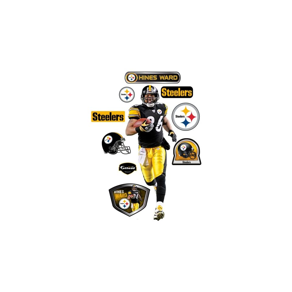 Fathead NFL Pittsburgh Steelers Hines Ward Wall Graphic