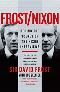 "Cover of ""Frost/Nixon: Behind the Scenes ..."