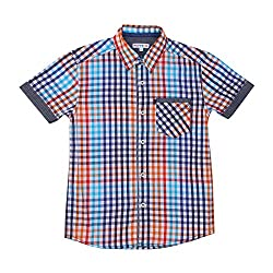 Poppers by Pantaloons Boy's Shirt_Size_9-10 YRS