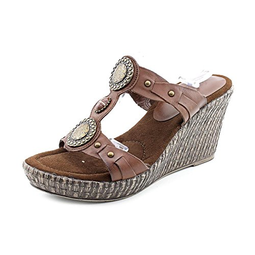 Baretraps Women'S Sedona Open-Toe Platform Sandals In Brush Brown Size 8.5
