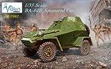 Vision models 1/35スケール  【VM-35002】 ソ連BA-64B 装甲車 初回限定仕様 日本限定 女性兵士レジンフィギュア付属