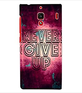 ColourCraft Quote Design Back Case Cover for XIAOMI REDMI 1S