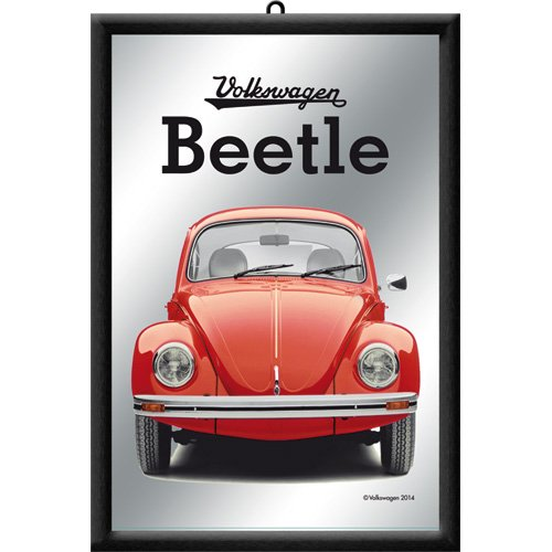 nostalgic-art-80727-volkswagen-vw-beetle-red-espejo