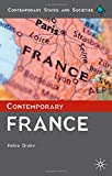 Contemporary France (Contemporary States and Societies Series)
