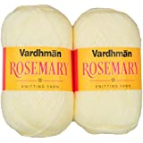 Vardhman Acrylic & Nylon Rosemary Cream (200 Gm) Pack Of 2 (400 Gm)