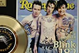 Blink 182 Gold Record Signature Series LTD Edition Display