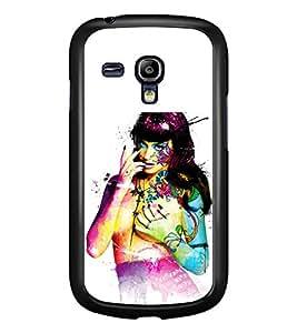 PRINTSWAG GIRL ART Designer Back Cover Case for SAMSUNG GALAXY S3 MINI