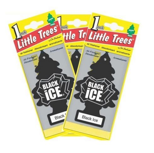 3PCS Scents Little Trees Home : Little Trees Car And Home Hanging Air Freshener,BLACK ICE X 3 pcs : Air Freshener Ice X (Korean Car Air Freshener compare prices)