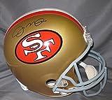 Joe Montana Autographed San Francisco 49ers Full Size Riddell Helmet – Autographed NFL Helmets