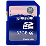 Kingston 32GB SDHC Memory Card For Panasonic Lumix DMC-G3 Digital Camera