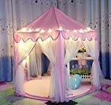 IsPerfect Kids Indoor Princess Castle Play Tents,Outdoor Large Playhouse...