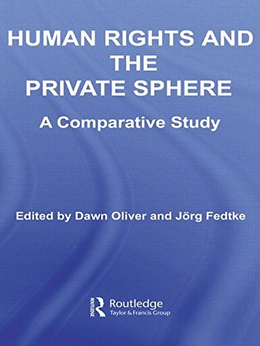 Human Rights and the Private Sphere: A Comparative Study (UT Austin Studies in Foreign and Transnational Law)