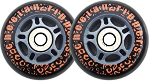 BLACK CHEETAH Wheels for RIPSTICK ripstik wave board ABEC 9 by Cheetah Rippers
