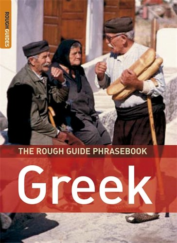 The Rough Guide Phrasebook Greek (Rough Guide Phrasebooks)