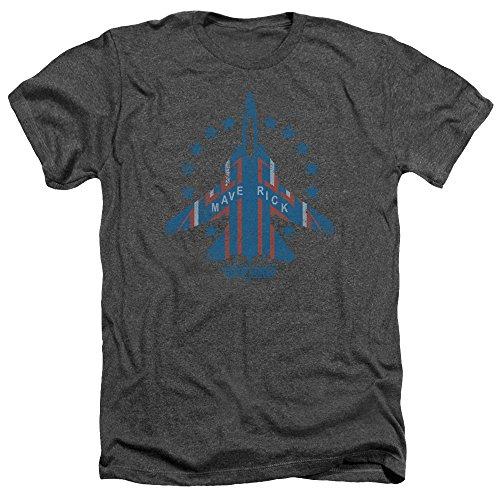 Top Gun Jet Maverick Charcoal Tee Shirt foe Men