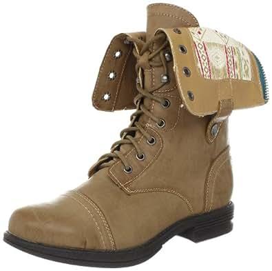 Madden Girl Women's Zorrba Ankle Boot,Natural Paris,5 M US