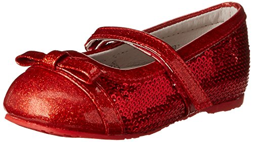 Pediped Flex Penny Ballet Flat (Toddler/Little Kid),Red,28 Eu (11-11.5 E Us Little Kid) front-995473
