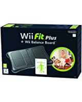 Wii Fit Plus + Wii Balance Board - noir